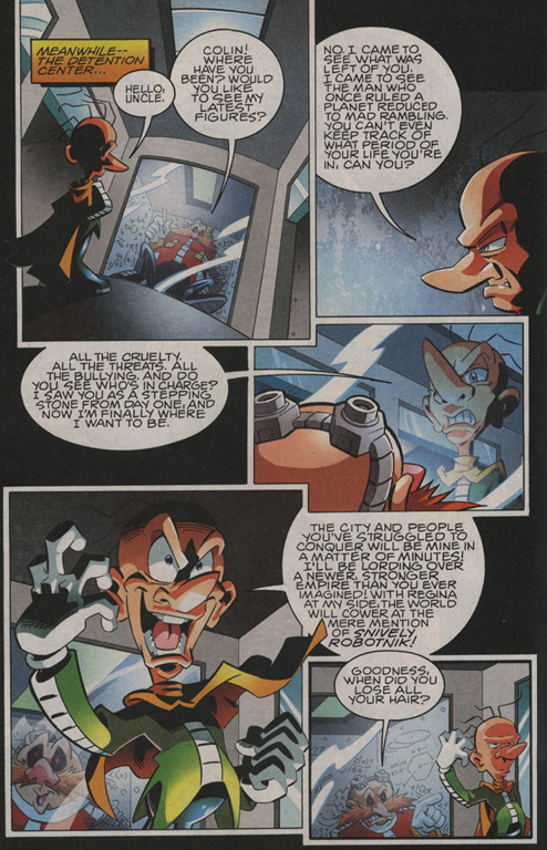 Read online Sonic The Hedgehog comic -  Issue #208 - 14
