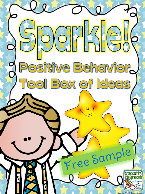 SPARKLE, Positive Behavior Tool Box of Ideas