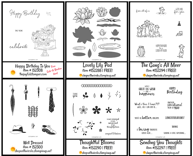 level 1 stampin' up! saleabration stamp sets