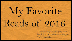 Favorite Reads of 2016