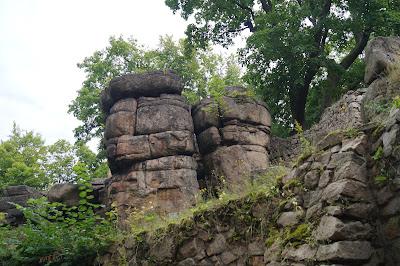 zamek Bolczów - zamek w skale