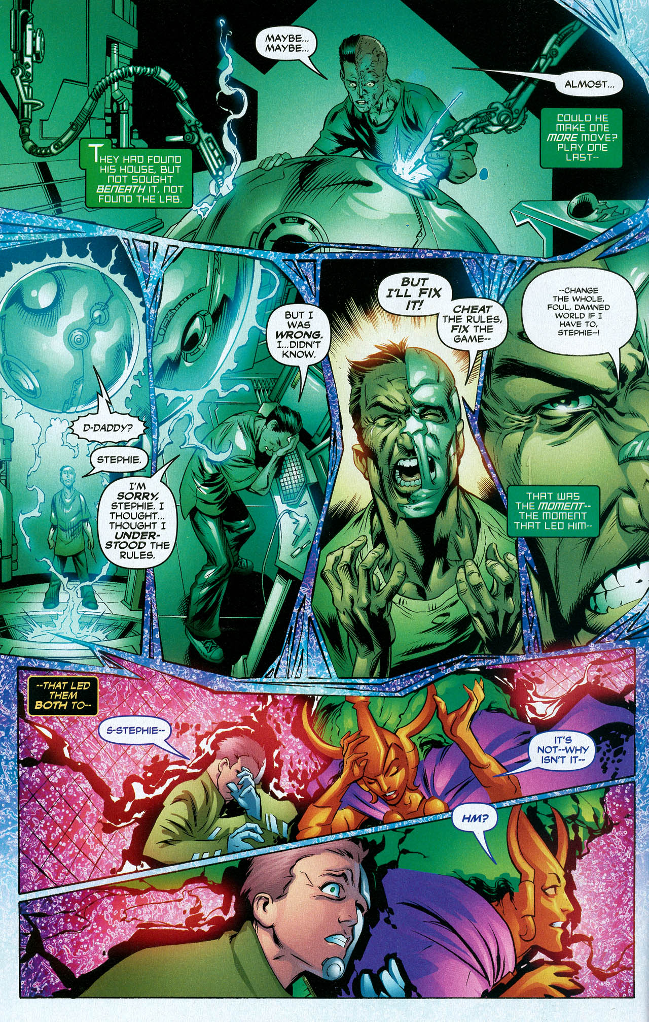 Read online Trinity (2008) comic -  Issue #21 - 14