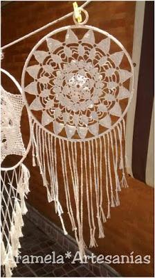 mandala crochet patron gratis