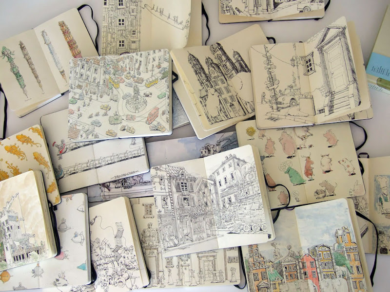 Mattias Adolfsson sketchbook