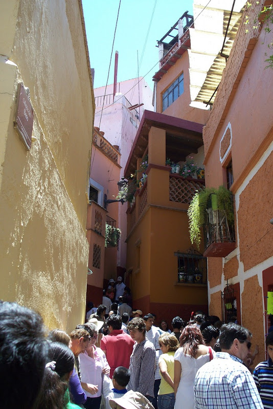 Callejon del Beso (O beco do beijo), Guanajuato, México