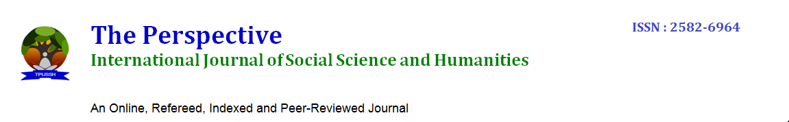 The Perspective International Journal of Social Science and Humanities