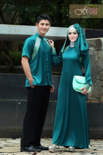 Model Baju Kondangan Couple Muslim Batik