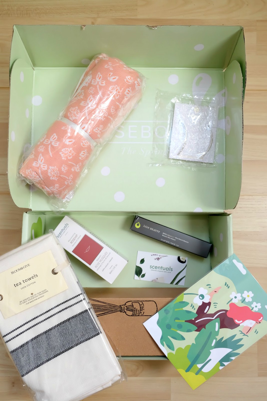 Causebox subscription box review spring 2018 stylewise-blog.com