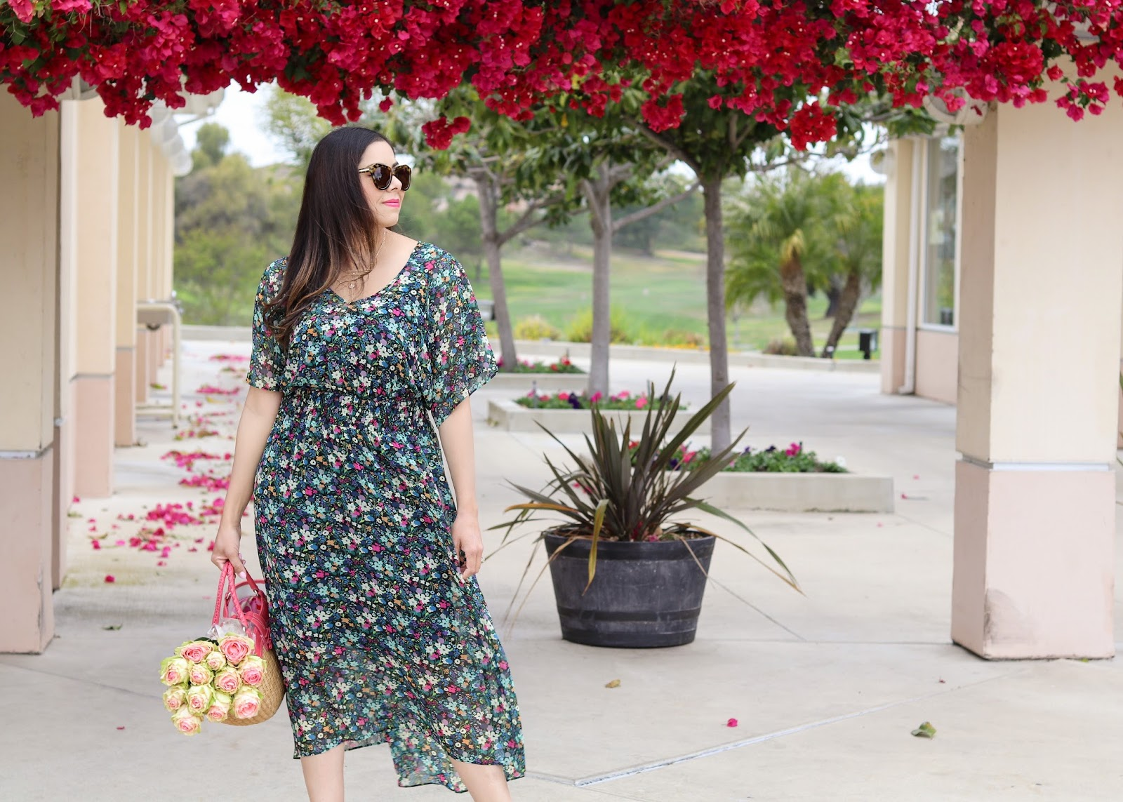 how to wear a floral dress, comfiest floral dress of 2018