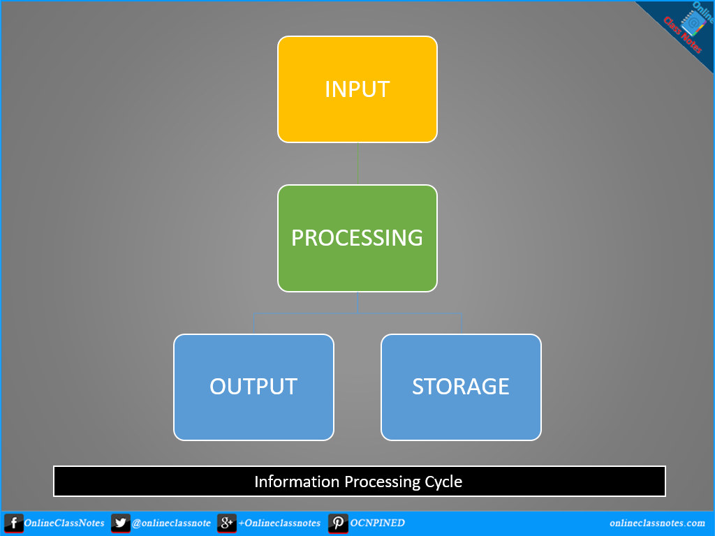 What is information processing cycle what are the four phases of four phases of information processing cycle pooptronica Choice Image