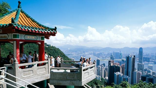 Victoria Peak View - Hongkong