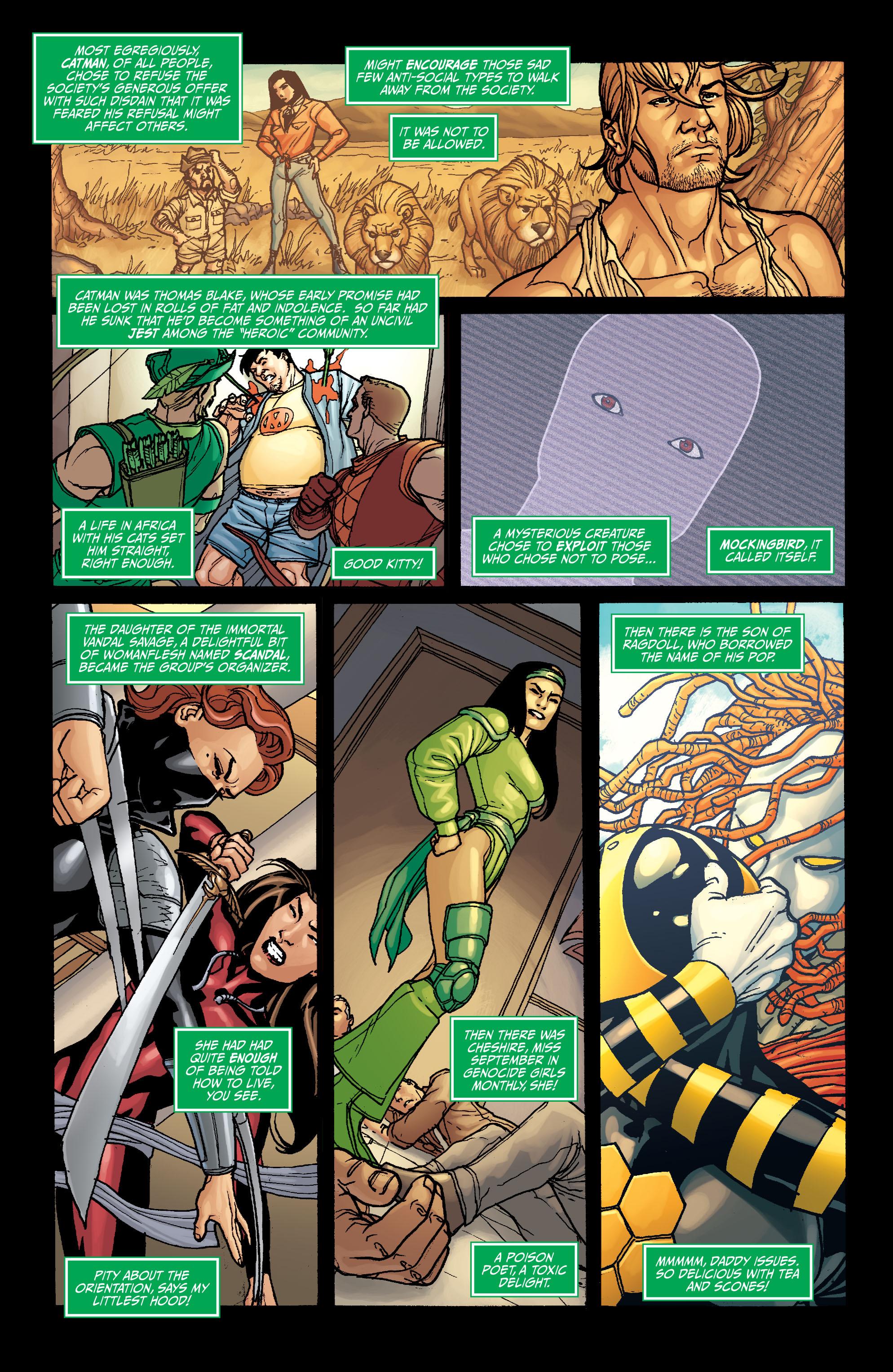 Read online Secret Six (2008) comic -  Issue #6 - 22