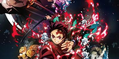 تقرير فيلم الانمي Kimetsu no Yaiba Movie: Mugen Ressha-hen (جزء القطار الغير محدود)