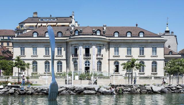 Fondation Nestlé à Vevey musée mondial alimenation