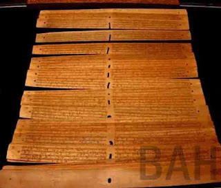 Kitab Negarakertagama, dikarang oleh Mpu Prapanca