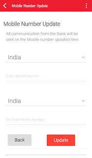 Kotak 811 for update mobile number