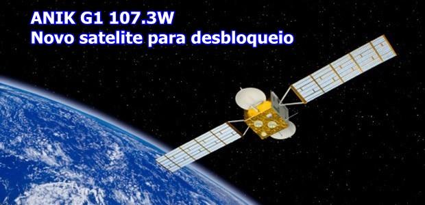 Dicas De Apontamento Para o Satélite Anik G1 107,3W Novo Satélite de Keys - 09/07/2017
