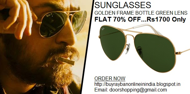 price of ray ban aviator sunglasses in india