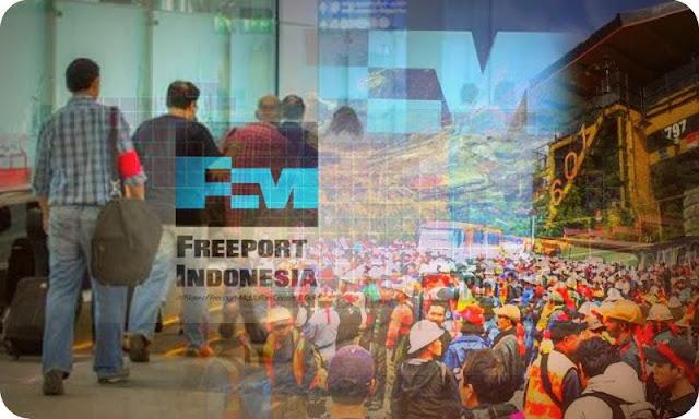 Ratusan Karyawan WNA Tinggalkan Freeport Indonesia