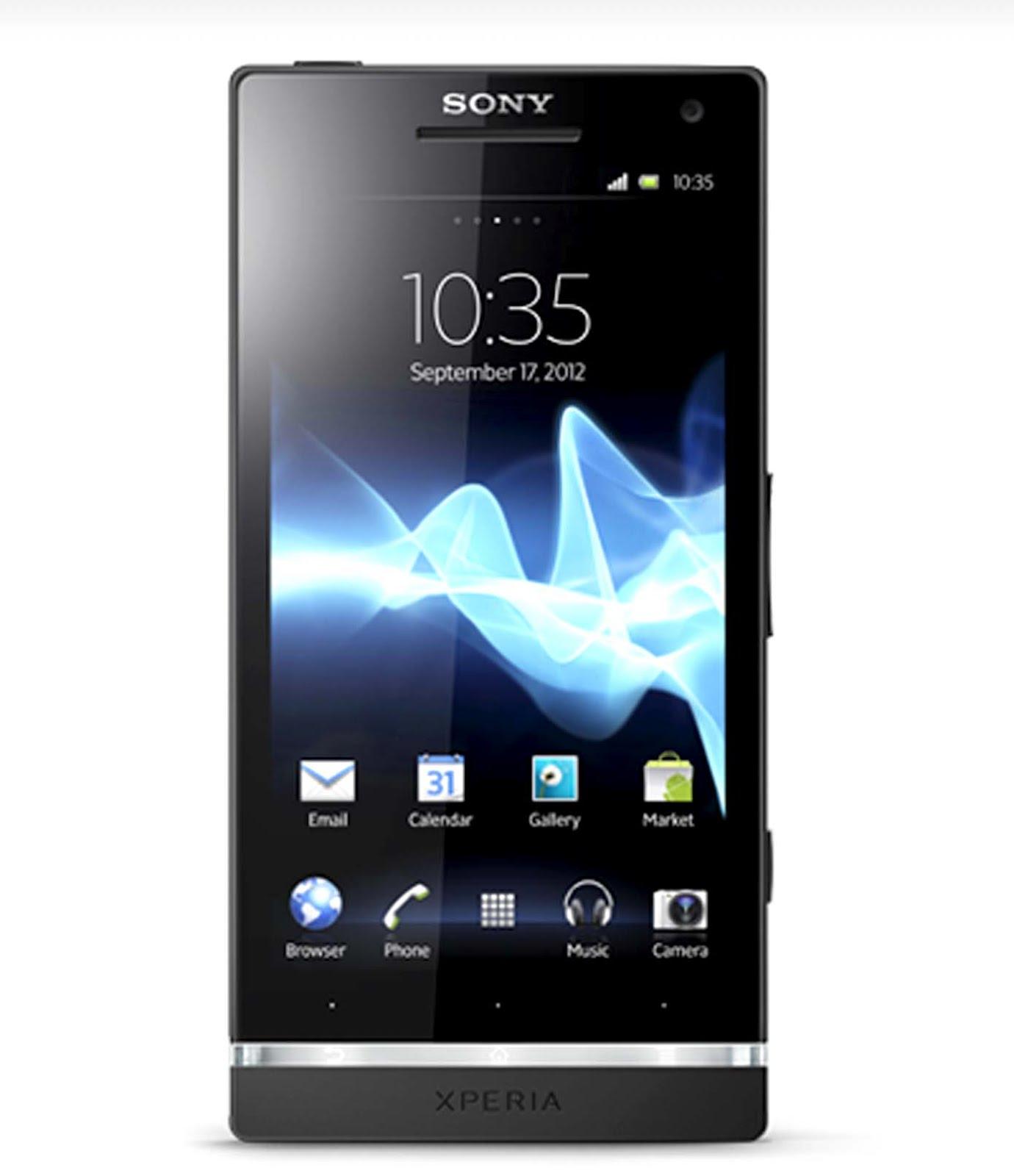 Data Harga Handphone: Sony Xperia S
