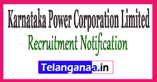 KPCL Karnataka Power Corporation Limited Recruitment Notification 2017