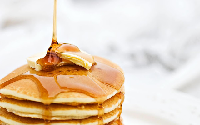 Pancakes Honey