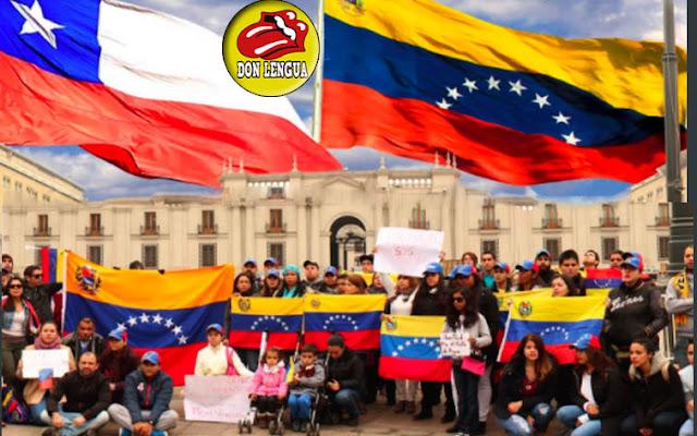 Muchos venezolanos refugiados ya trabajan en las oficinas del Metro de Chile