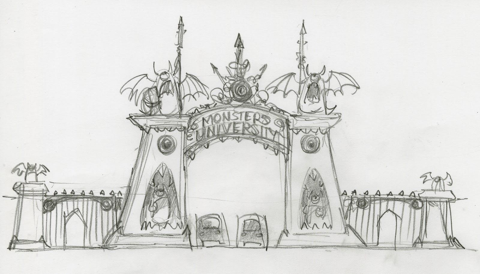 Walt Disney Concert Hall Floor Plan Pixar Brasil Blog Universidade Monstros Novas Artes