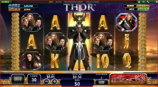 Tragaperras online Thor The Mighty Avenger