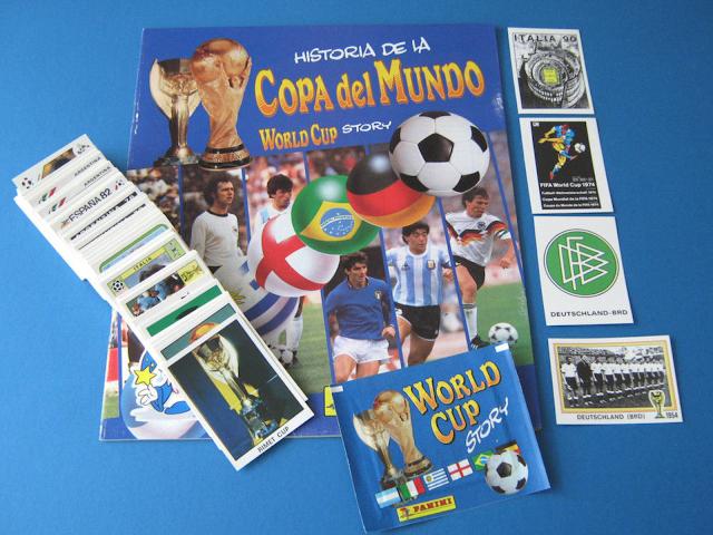 World Cup Story Panini Album
