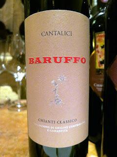 Cantalici Baruffo Riserva Chianti Classico 2012 (90+ pts)