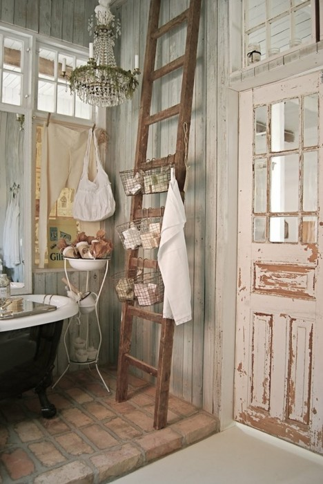 Check Out These Clever Uses For Old Ladders