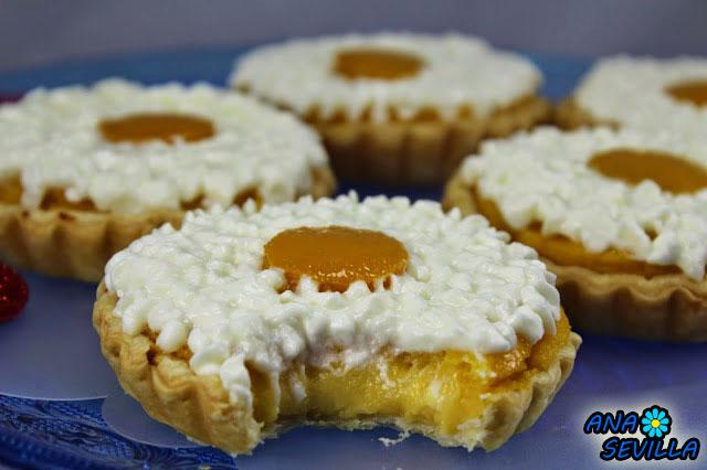 Tartaletas de melocotón Ana Sevilla cocina tradicional
