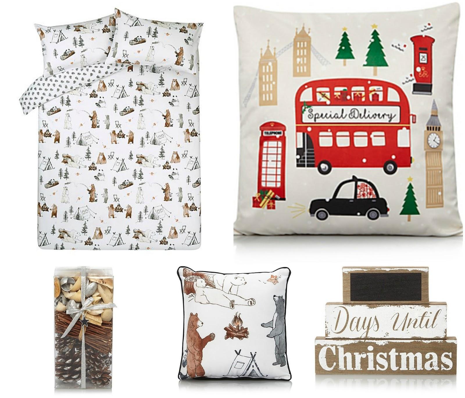 Asda Online Christmas Decorations: Christmas Decor Wishlist - October 2017