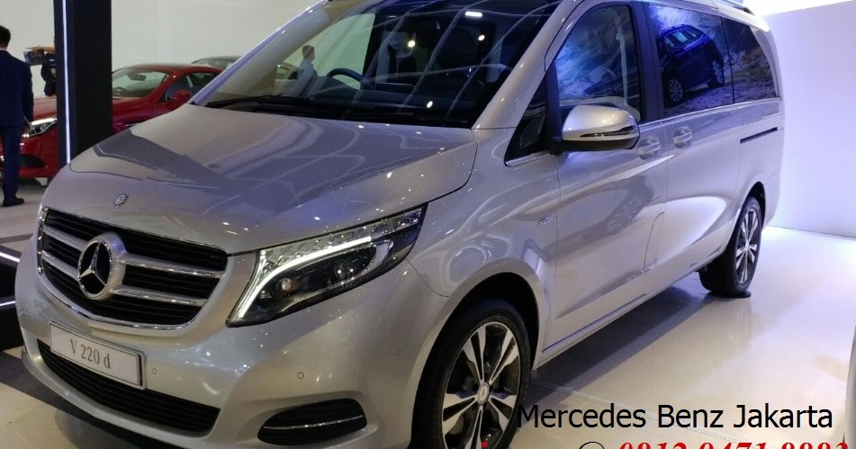 Promo new mercedes benz v class v220d atpm jakarta for Mercedes benz service b coupons 2017