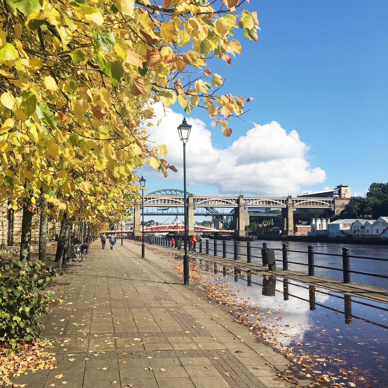 September Days - Newcastle Quayside