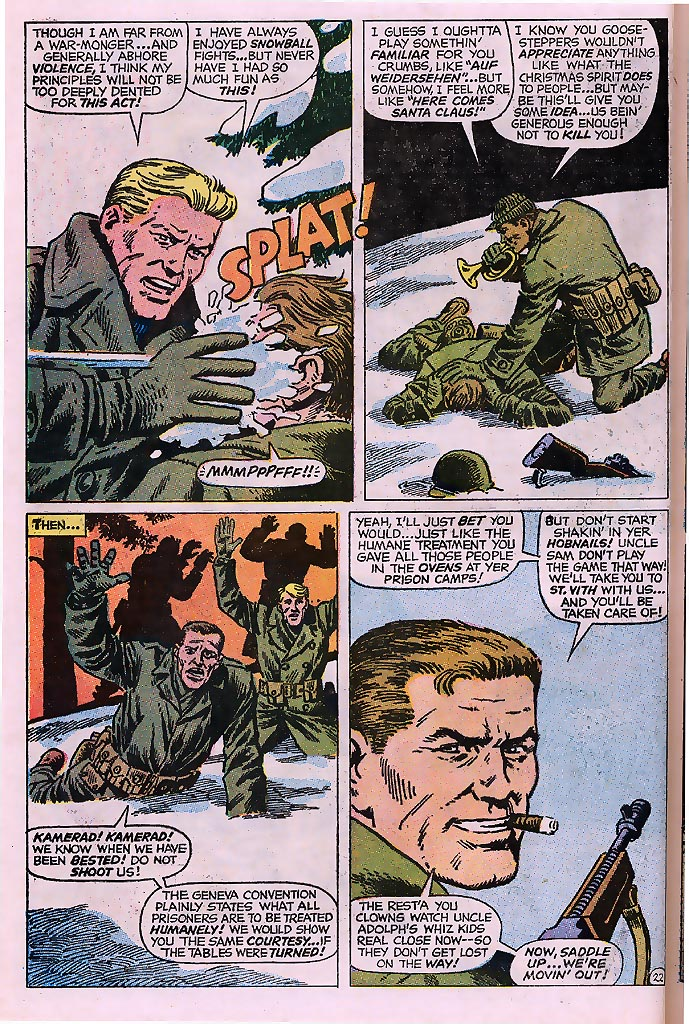 Read online Sgt. Fury comic -  Issue # _Special 4 - 28