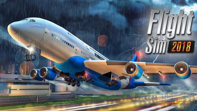 flight sim 2018 hile apk