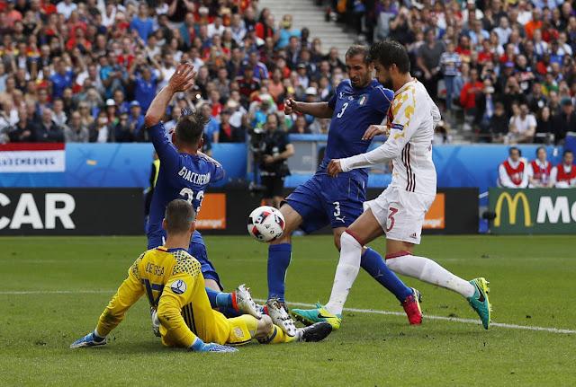 Gol Chiellini Italia Euro2016