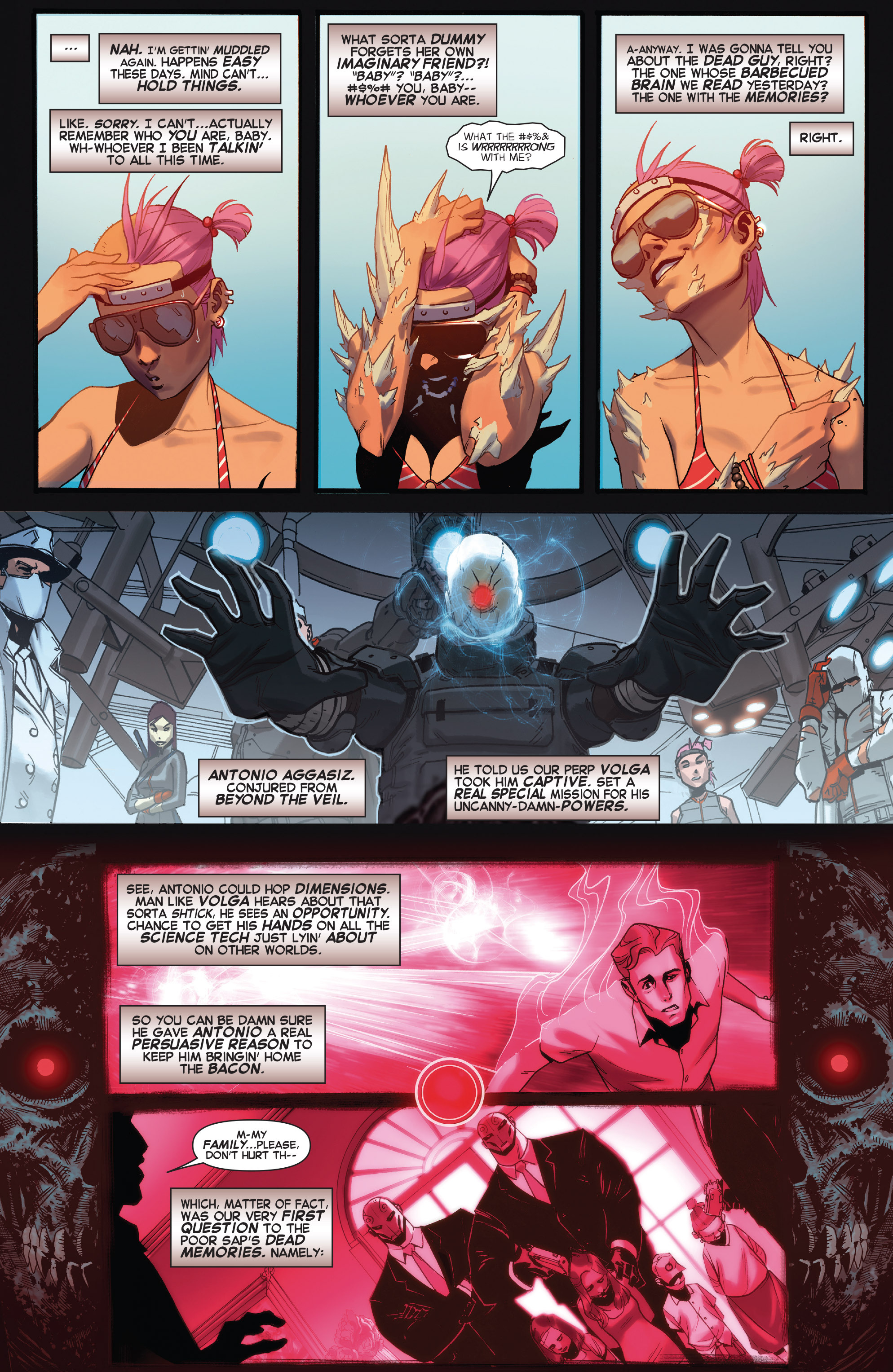 Read online X-Force (2014) comic -  Issue #5 - 4