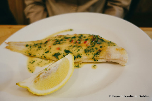 Slip Sole - Fish Shop Dublin - French Foodie in Dublin