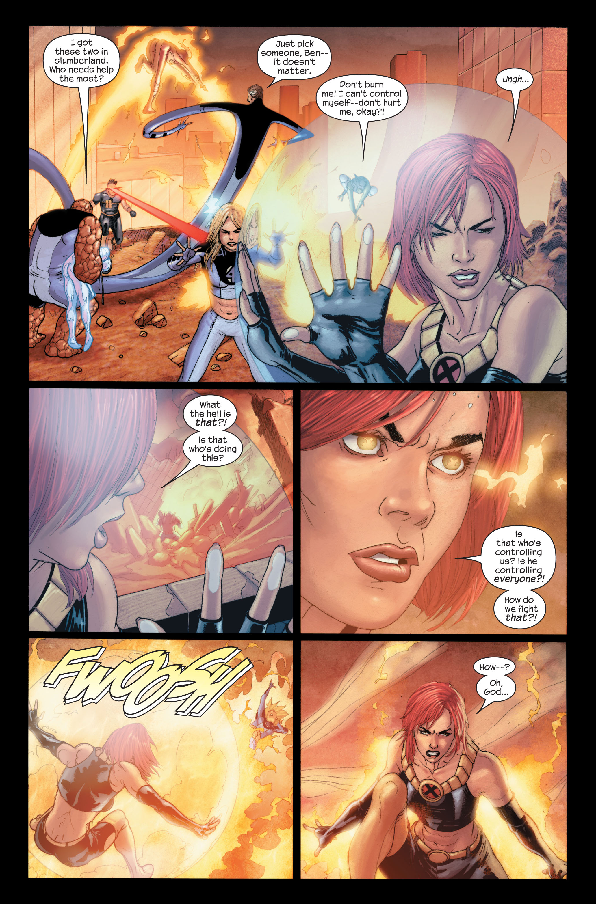 Read online Ultimate X-Men comic -  Issue #91 - 22