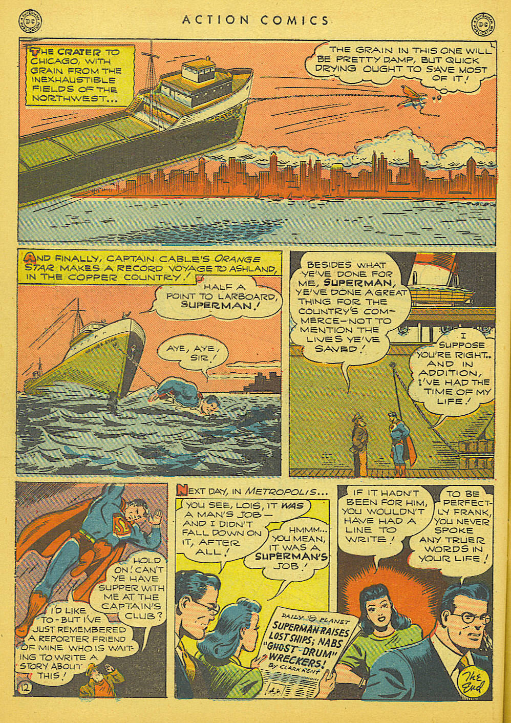 Read online Action Comics (1938) comic -  Issue #91 - 14