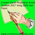 Contoh Surat Perjanjian Kerja Terbaru 2017 Yang Baik Dan Tepat