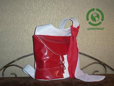рюкзак в цветах австрийского флага