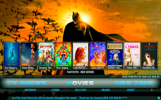 batman build kodi