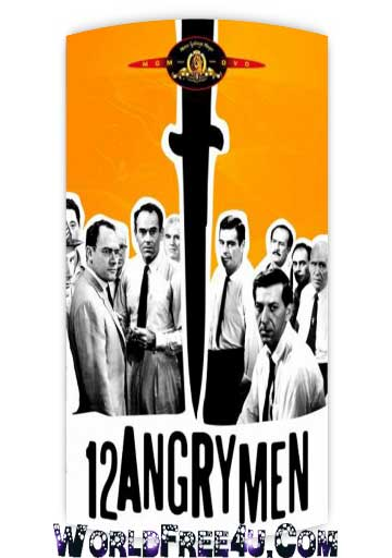 Poster Of Hollywood Film 12 Angry Men (1957) In 300MB Compressed Size PC Movie Free Download At worldfree4u.com