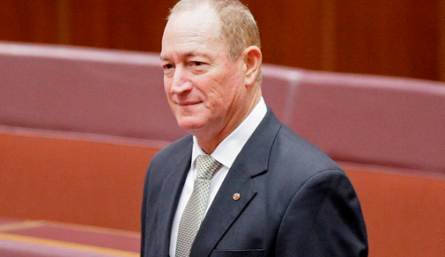 Senator Fraser Anning: 7th Rangers: Australia: Senator Sparks Fury By Saying That