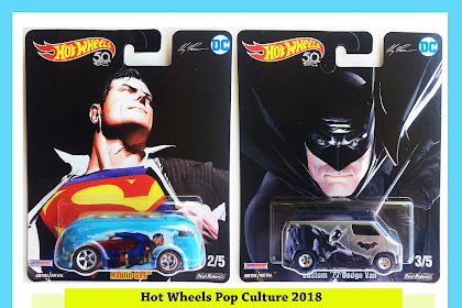 Hot Wheels Pop Culture 2018 Mix 2 : Alex Ross DC Comic