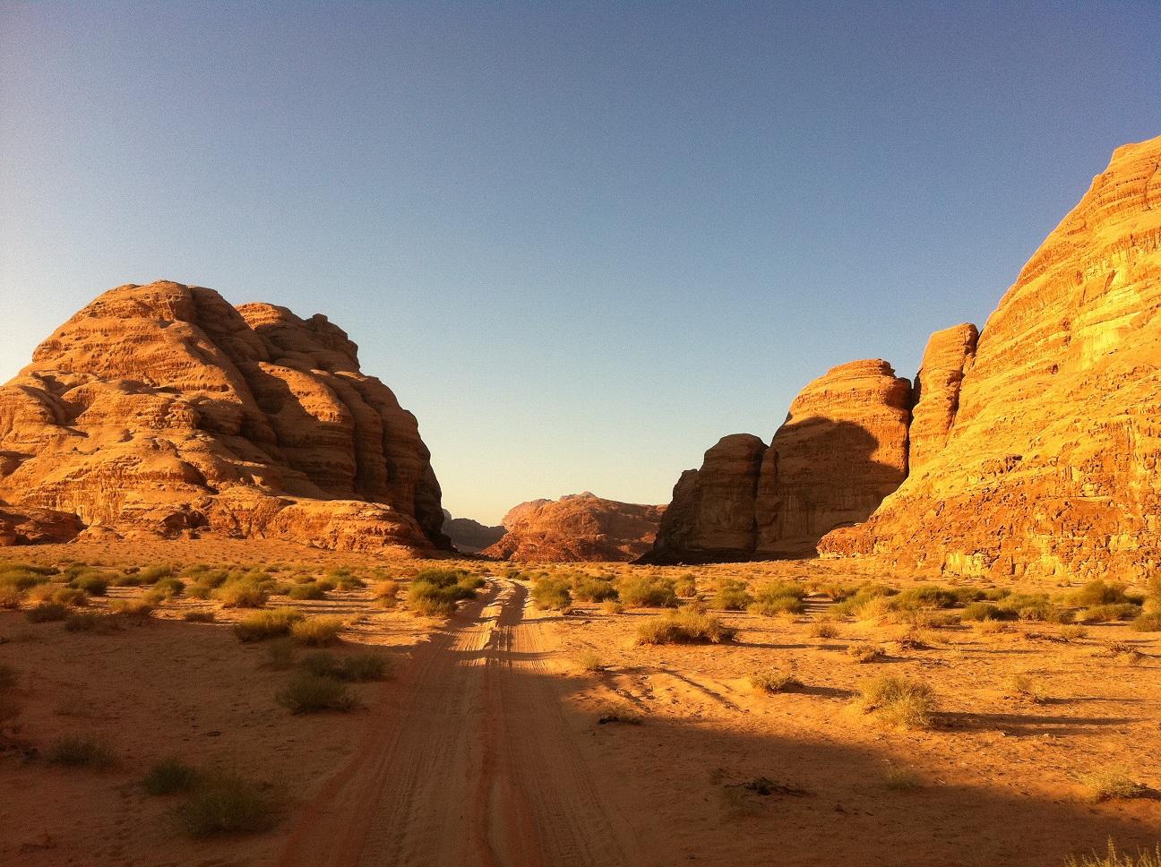 travel trip journey wadi rum jordan
